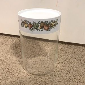 Pyrex Glass Canister